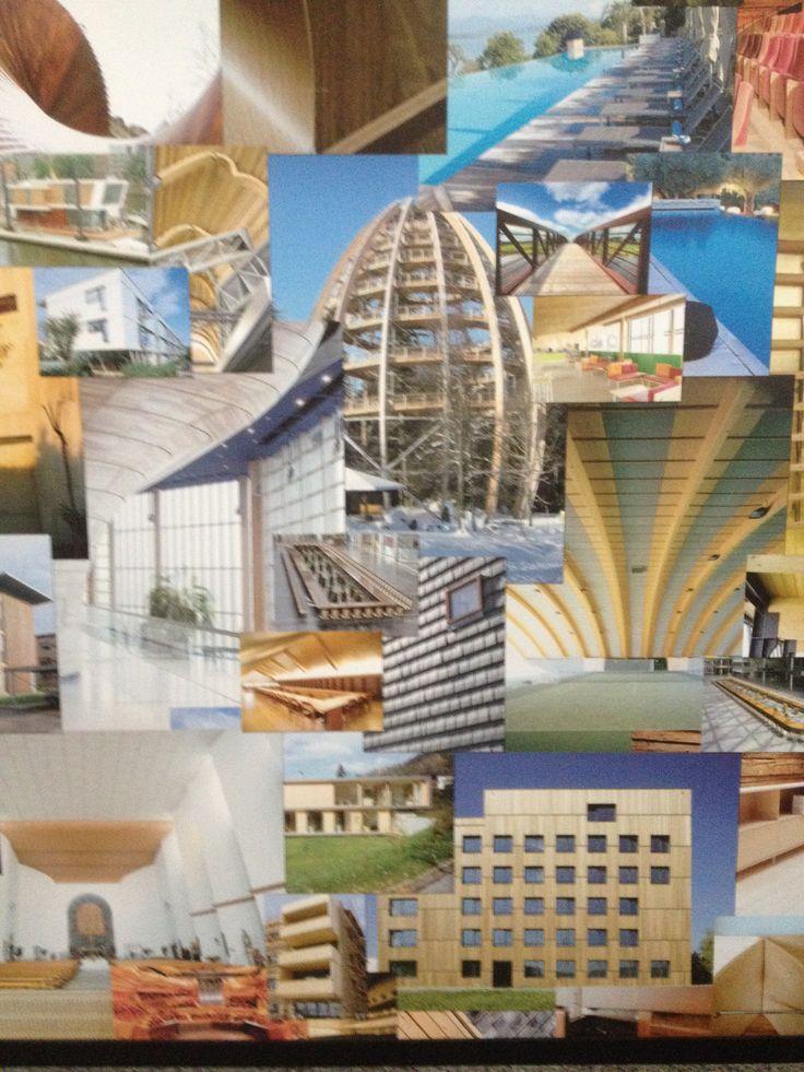 Collagewand in Wetenschapsmuseum Valencia mei 2015