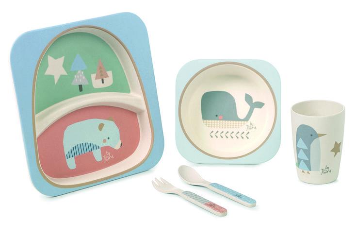 Vajilla Bambú Microondas 5 Piezas Jané 4m+ » comprar online en bebitus.com - grandes selecciones de Jané Sets comida ✓ a buenos precios ✓ envío rápido (1-2 días) ✓ envío gratuito a partir de 65 €