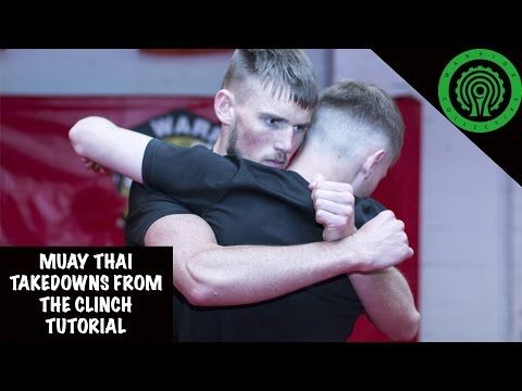 Muay Thai Takedowns from the Clinch Tutorial - YouTube