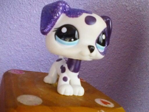 Lps Purple Dalmation pup
