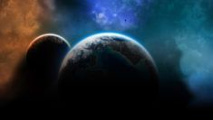tmavá tapeta planety