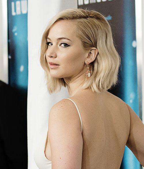 Jennifer Lawrence attends 'Joy' premiere in New York.