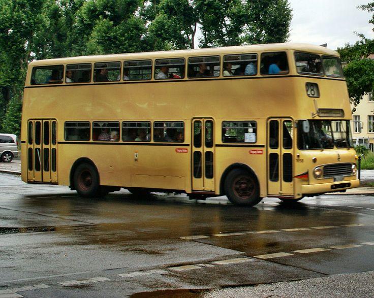 BERLIN 1965, Omnibus der Berliner Verkehrsgesellschaft (BVG)