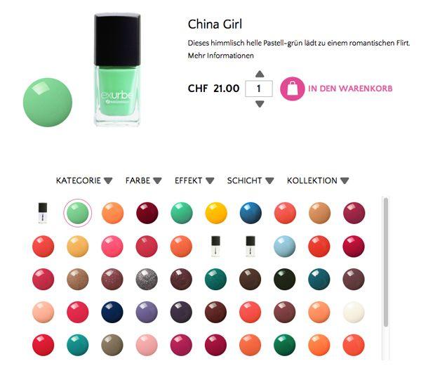 exurbe cosmetics auf dem Blog heypretty.ch