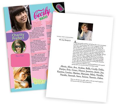 Yearbook Design Ideas Make A Yearbook Magazine Theme