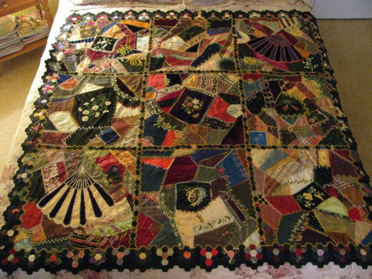 Best 25+ Victorian quilts ideas on Pinterest | Crazy quilting ... : crazy quilt blogs - Adamdwight.com