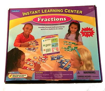 Lakeshore Learning Fractions Train Instant Learning Center