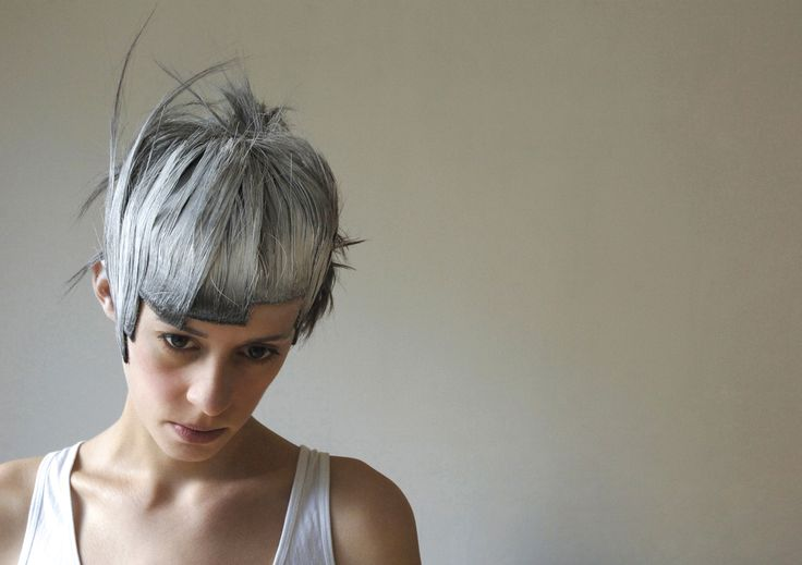 #haircut #creativehaircuts #haireducation  #hairbrained #hairmagazine #salon #saloneducation #haircolor #hairstyling #barbering #hair #menshair #hairdresser #hairstylist #gseducation #sassoon #model #chalky #whitehair #shorthair #photography #white #hairinspiration #hairtexture