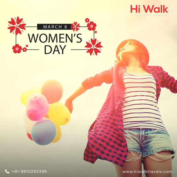 """""""Don't let anyone tell you you're weak because you're a woman."""" - Mary Kom HiwalkTravels feel proud and honour to wish all the beautiful women across the nation  """"HAPPY INTERNATIONAL WOMEN'S DAY """" #experiencetravel #womantour #solotour #customisedholidays #coupletours"""