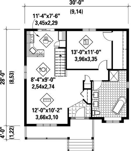 71 Best Floor Plans (under 1000 Sf) Images On Pinterest