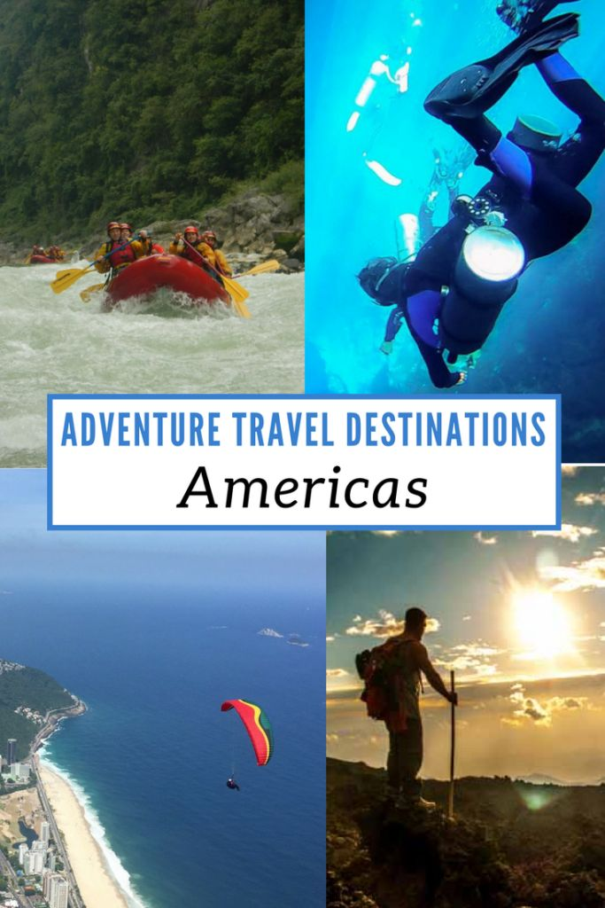 We asked some of our favorite travelers for their top picks of Adventure Travel Destinations in North America, Central America  and South America and have compiled them in a post. Click through for awesome inspiration on where to go for your next adventure! via @livedreamdiscov