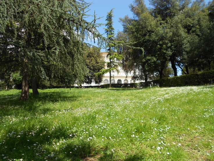 Villa Borghese. Mio paradiso personale. This beautiful place got my soul...Thank you