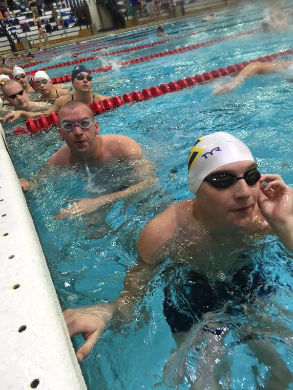 Blugold Swim & Dive @UWECSwimDive  Day one! Prelims start at 10 a.m. #WeNeverSettle #Blugolds