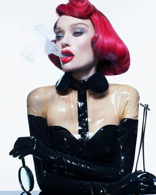 """""""TO DIE FOR"""" - Laud Magazine  Photography: Thom Kerr Prosthetics by Courtney Hudson Beauty: Becca Gilmartin Hair: Iggy Rosales Styling: Heather Cairns Model: Kirsty McKenzie   Latex top and gloves: @etiquettelatex   #fashion #fetishfashion #fashionphotography #style #fetishes #fetishmodel #fashionshoot #fashioneditorial #boudoir #fashionstyle #styles #alternative #moda #model #latex #latexclothing #gummi #smoking #ラバー  #ラテックス  #フェティッシュ #латекс #фетиш"""