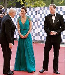 I love Princess Catherine's long flowy gowns. They are so pretty