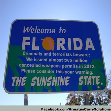 Florida - Concealed carry up, crime rate down.