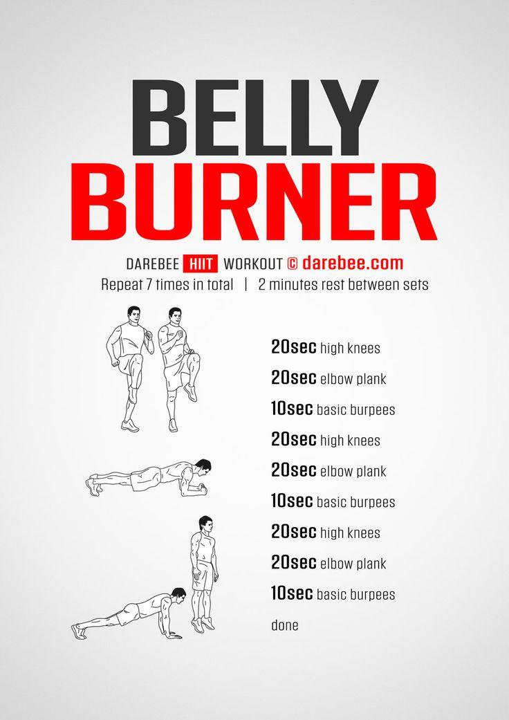 Belly Burner workout.