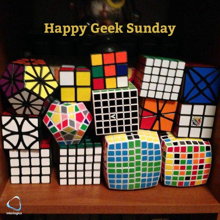 Happy Geek Sunday and choose a cube!