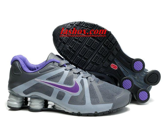 super popular ee155 354f0 ... chaussures nike shox roadster femme (gris pourpre)   Les Blog des www.