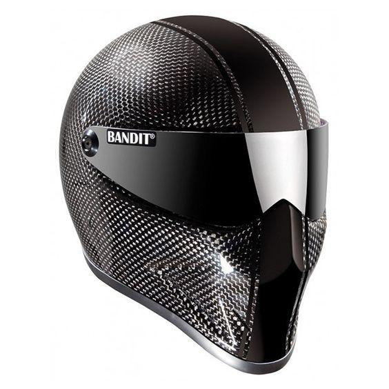 #Bandit #Crystal #Carbon #Fiber #Motorcycle #Helmet Design yours on www.helmade.com
