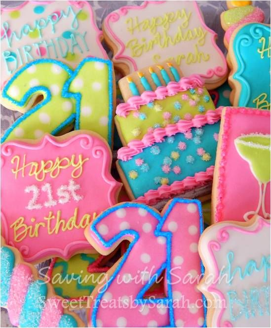 Cookie Cake Designs For 21st Birthday : 25+ best ideas about 21st Birthday Cakes on Pinterest 21 ...