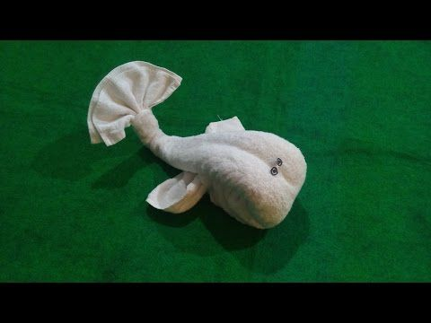 MARINE WHALE - TOWEL DESIGN - YouTube