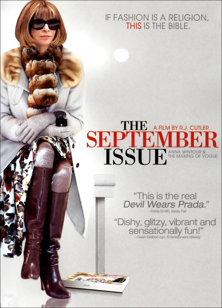 The September Issue de R.J. Cutler © 2009 R.J. Cutler