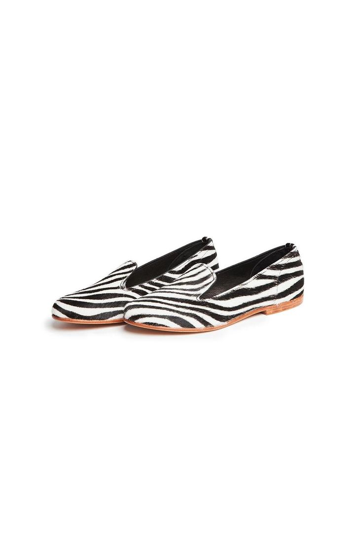 Chique loafers in zebra print pony hair. Runs about half a size small. Wear with jeans or black tights!   Zebra Loafer by La Botte Gardiane by Bottines. Shoes - Flats Netherlands