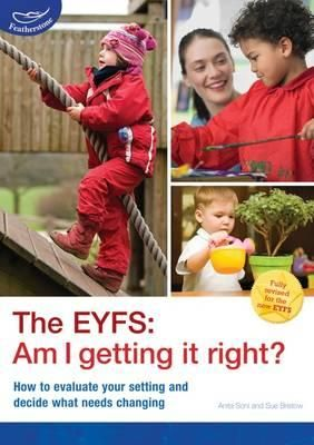 #newbooks The EYFS : am I getting it right? / Anita Soni and Sue Bristow - 361 FEA Reference Resources. Search SOLO for 9781408186824