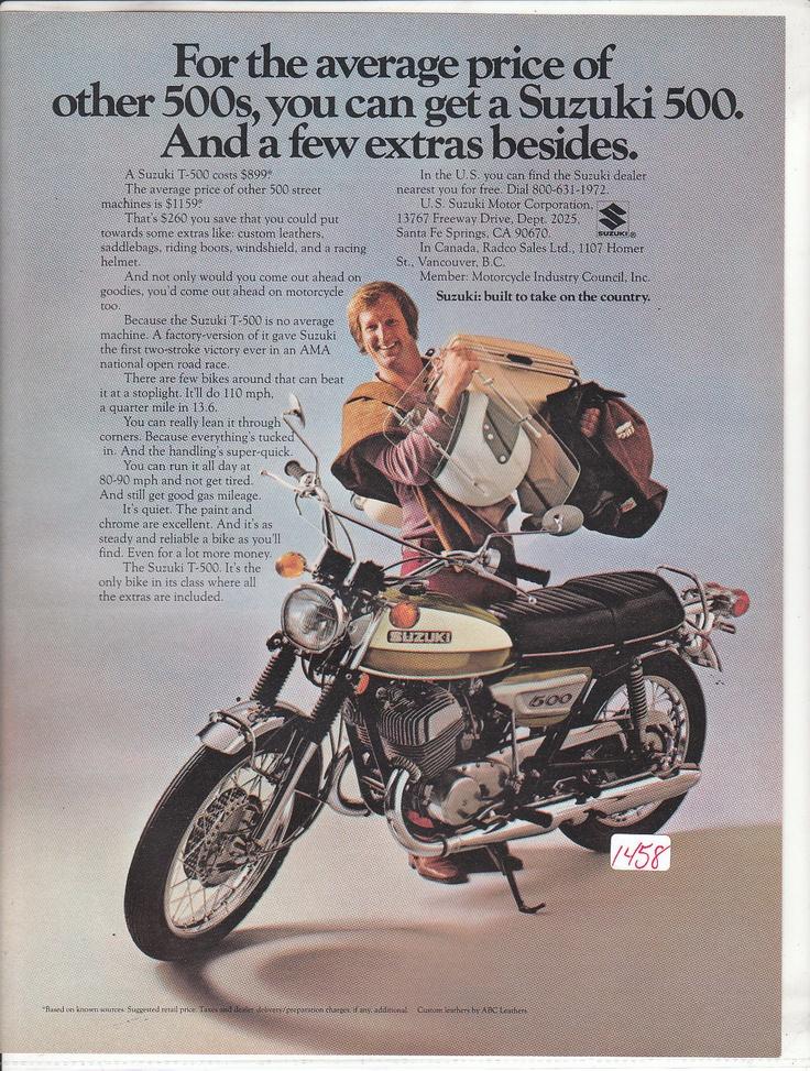 32 best vintage suzuki ads images on pinterest | vintage, suzuki