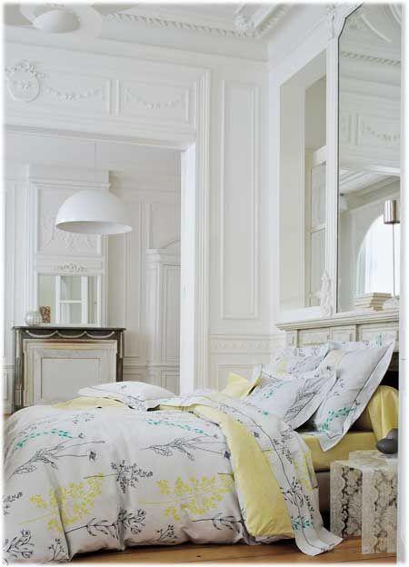 sanderson fleurs des champs anis maison et bricolage pinterest linge de lit grande marque. Black Bedroom Furniture Sets. Home Design Ideas