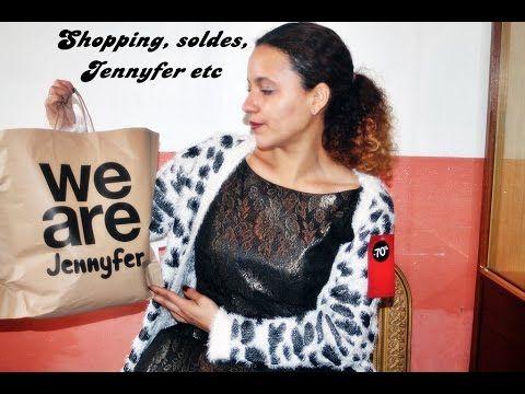 Shopping, soldes, Jennyfer etc
