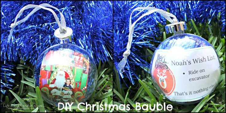 DIY Christmas Bauble - www.wendycoppola.com