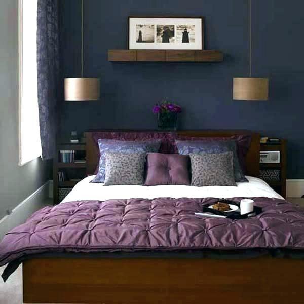 Blaues Themenorientiertes Schlafzimmer Kleines Schlafzimmer