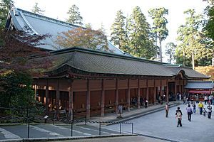 Japanese History - Enryaku-ji,  is a Tendai monastery located on Mount Hiei in Ōtsu, overlooking Kyoto. It was founded during the early Heian period. The temple complex was established by Saichō (767–822), also known as Dengyō Daishi, who introduced the Tendai sect of Mahayana Buddhism to Japan from China. Enryaku-ji is the headquarters of the Tendai sect and one of the most significant monasteries in Japanese history.