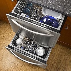 double drawer dishwasher /  a defiante purchase next time we need one