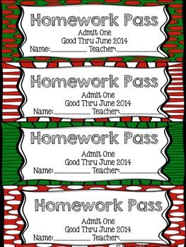Homework Passes Pros And Cons - image 3