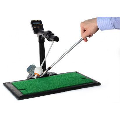 Этот гольф-тренажер предназначен для #профессионалов и #любителей, которые хотят стать профессионалами. На каркасе из пластика повышенной прочности установлено электронное табло, а на специальном креплении - #мяч, по которому нужно правильно ударить, ведь именно это важно в #гольфе - направление удара, его сила, поворот клюшки во время соприкосновения с мячом. Именно силу удара и направление #электронный гольф-тренажер поможет вам довести до совершенства!  #podarkoff #vip #vippodarki…