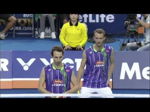 SF - 2015 Viktor Korea Open - Lee Y. Dae/Yoo Y. Seong vs Carsten Mogense...