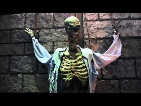 skeleton story teller halloween decorations for the home haunter haunted houses and theme parks