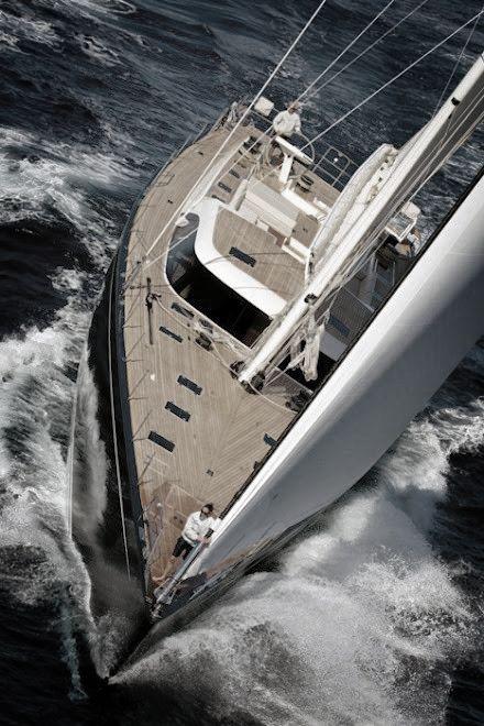 To sail around the world one day