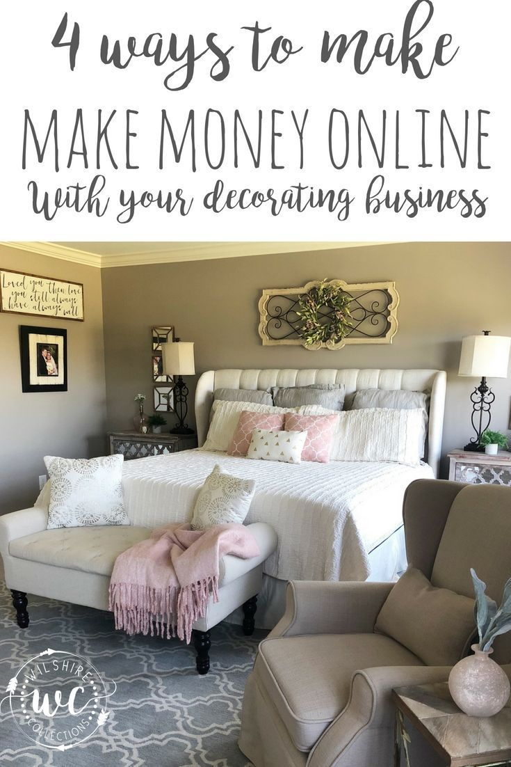 4 Ways To Make Money Online With Your Decorating Business