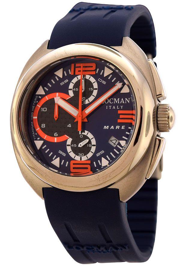 Locman Mare Unisex Watch LO-133BLCRBBL