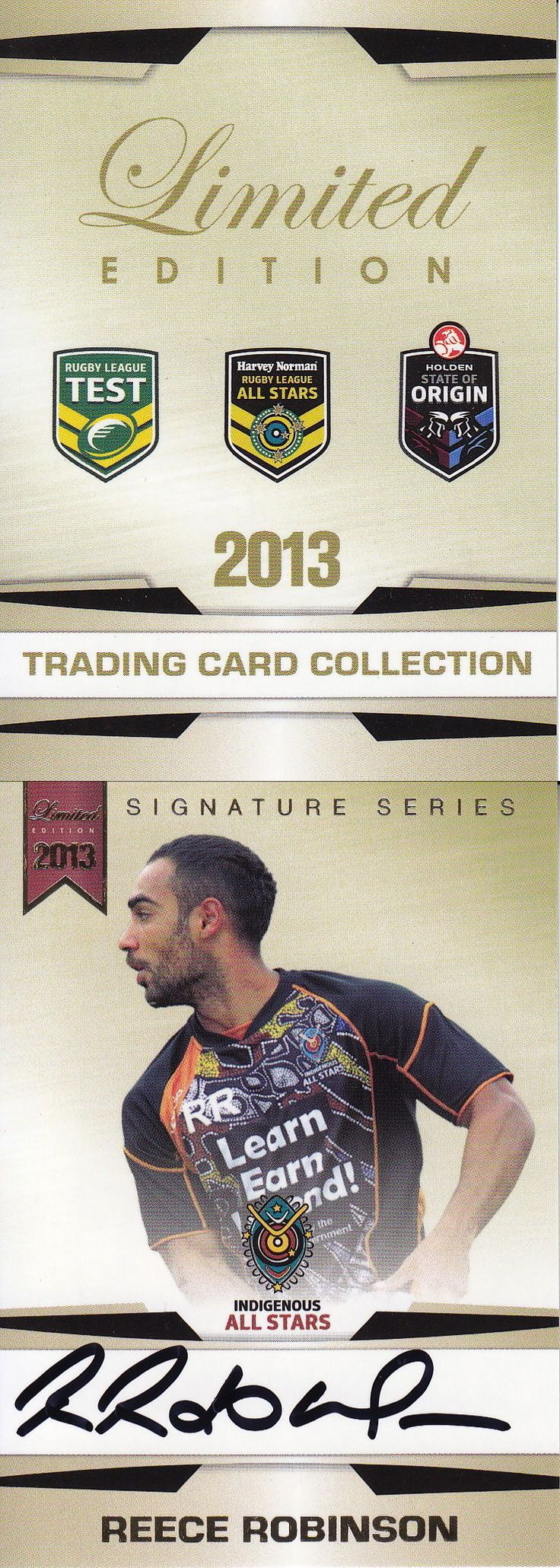 Rugby League NRL Cards 25583: Nrl - 2013 Rugby Trading Card Collection Signature Set ~ Reece Robinson # 167 -> BUY IT NOW ONLY: $59.99 on eBay!