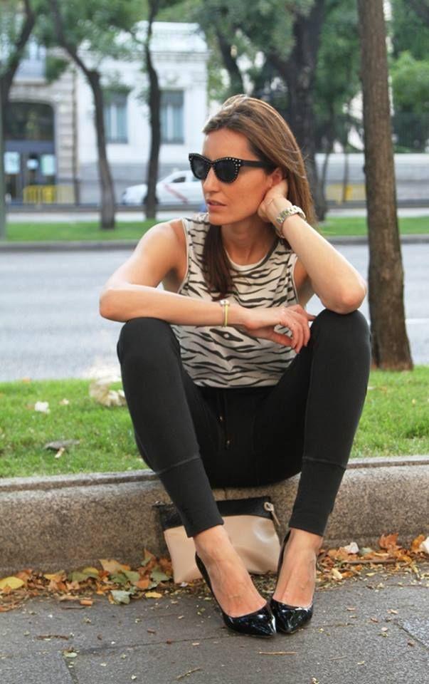 #MónicadeTómas con total look de Ragdoll Los Angeles http://bit.ly/1ns4x6i #Losangelesstyle #casualandrock