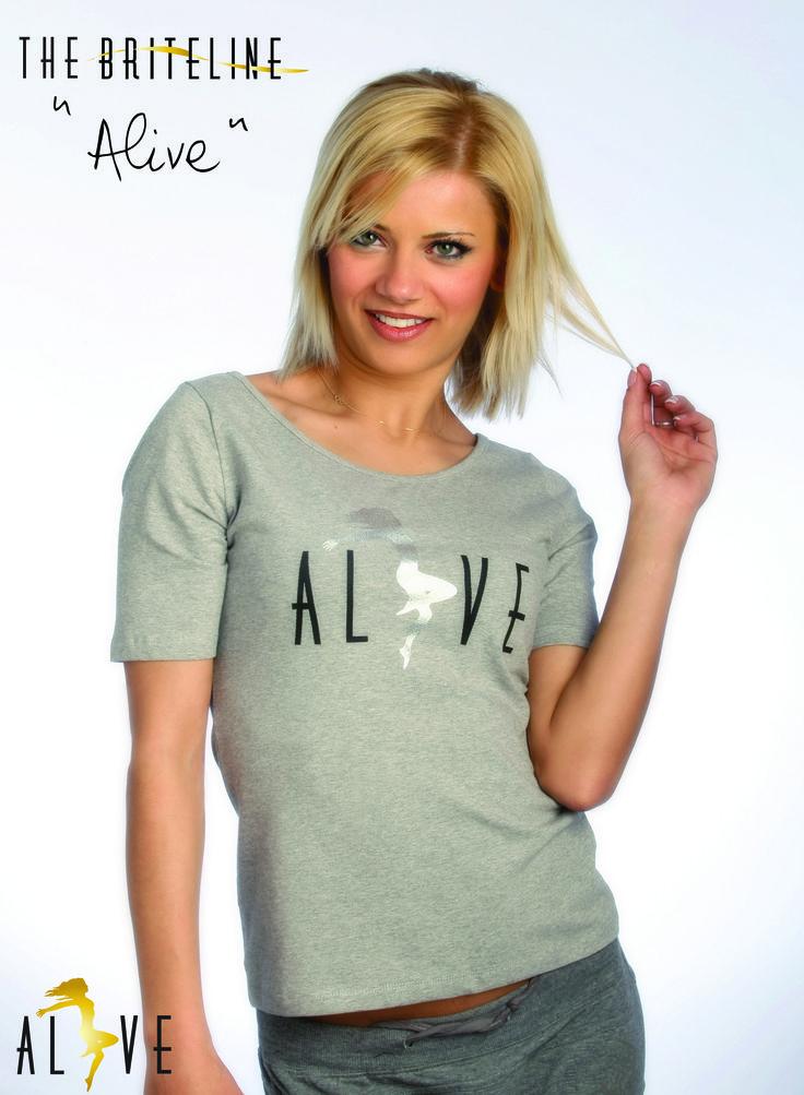 """ALIVE"" T-shirt"