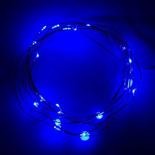 BZONE Battery Operated Fairy LED Wire String Lights - Starry Starry Lights for Festival, Holiday, Christmas and Party - Wall's Furniture & Decor