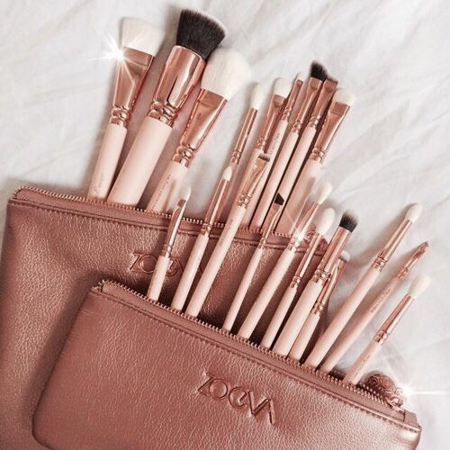 ZOEVA ROSE GOLD MAKEUP BRUSHES