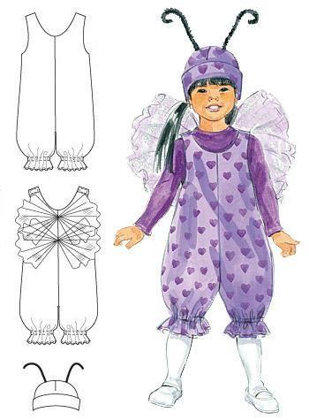Как по одной выкройке сделать своими руками разные новогодние костюмы для детей? Комбинезон - универсальная основа для реализации неограниченного количества идей новогодних костюмов. Построить выкр…