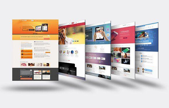 3d Website Mock Up 5 Professional Business Card Design Mockup Mocking